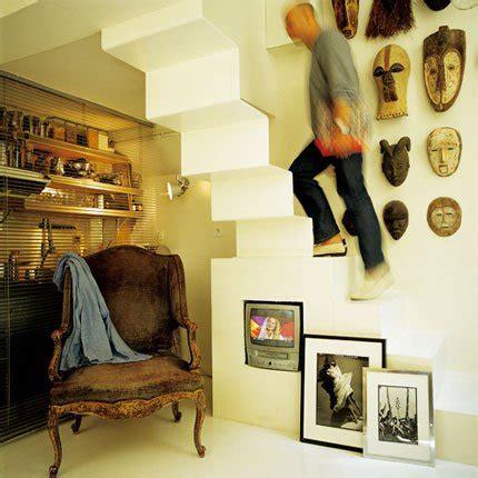 vivolta tv cote cuisine surface une mezzanine dans une loge de concierge
