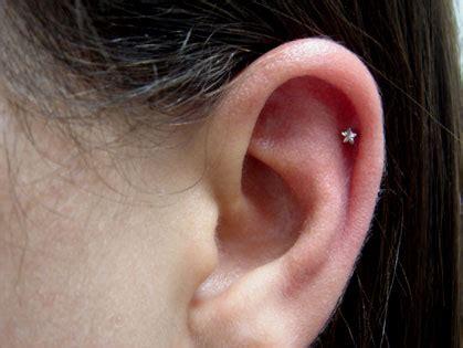 piercing na cartilagem da orelha fotos  cuidados
