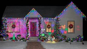 Decoration De Noel Exterieur Lumineuse : une maison la d co de no l en ext rieur sp ciale disney ~ Preciouscoupons.com Idées de Décoration