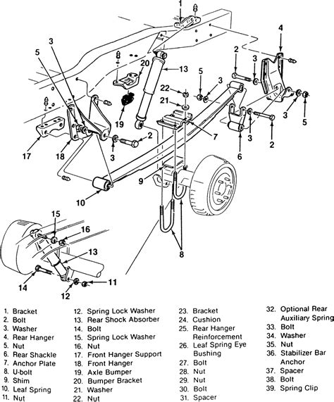 front suspension diagram of 2002 chevy trailblazer share