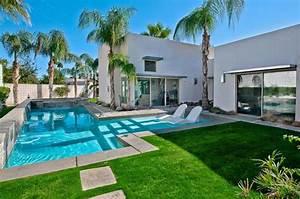 amenagement petit jardin avec piscine 4 piscine de luxe With amenagement jardin avec piscine