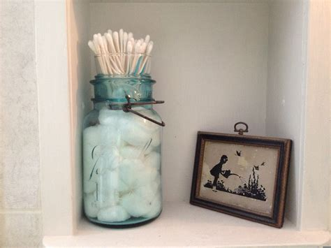 farmers wife  canning jar cotton ball   tip