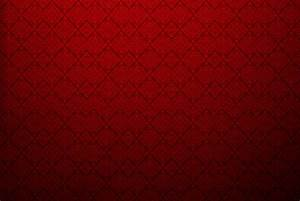 Red Textured Wall With Damask Design Background - PhotoHDX