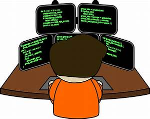 Computer clipart man working atputers - Clipartix