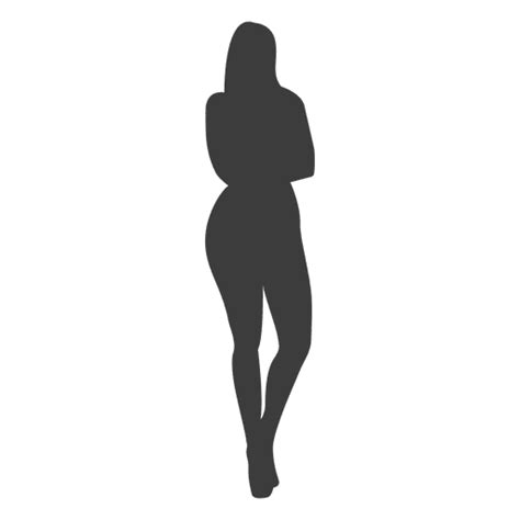 hot girl silhouette transparent png and svg vector