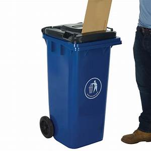 120 litre wheelie bins with letter slot lid csi products With letter bin