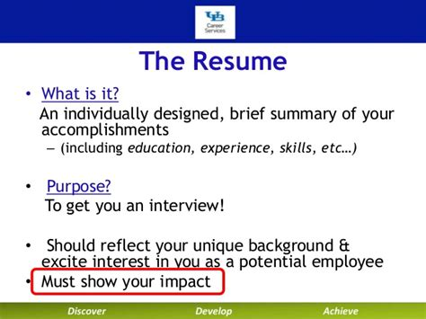 Brief Summary Of Your Background For Resume by At Buffalo Career Services Technical Resumes And Cover Let