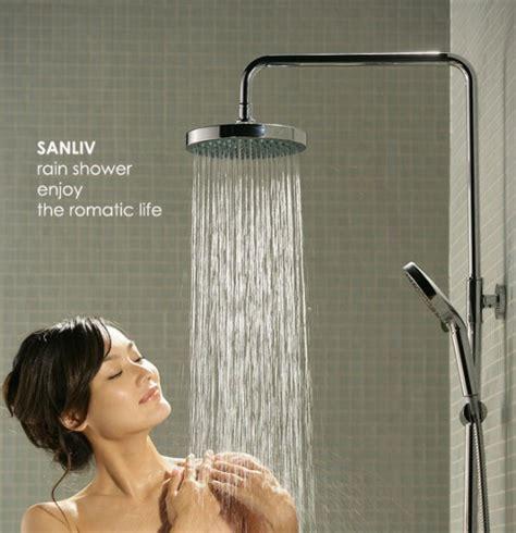 beautiful lady  romatic rain bath shower picture