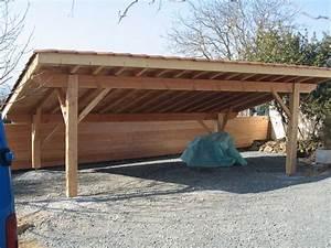 Abri Voiture En Bois : 11 best images about abris voiture et carport en bois on ~ Nature-et-papiers.com Idées de Décoration
