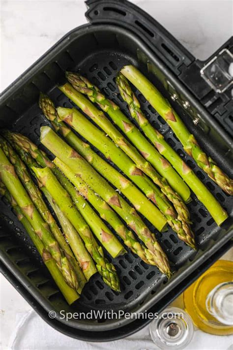 fryer air asparagus easy quick ingredients variations minutes