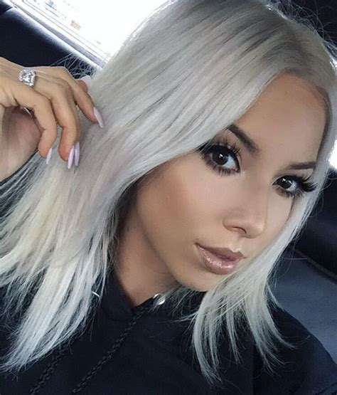 25 Best Ideas About Silver White Hair On Pinterest