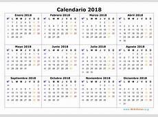 Calendario Laboral 2018 de México Calendario 2018