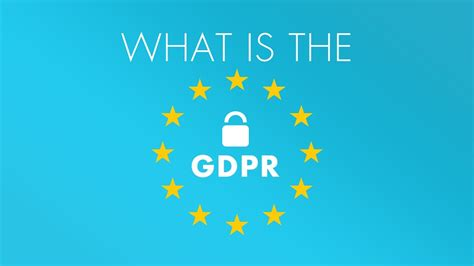 What Is The Gdpr? Youtube