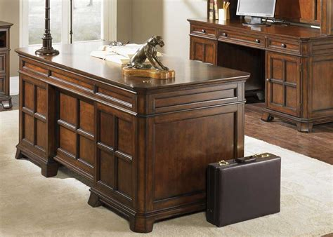 wooden office desk wood executive desk collections