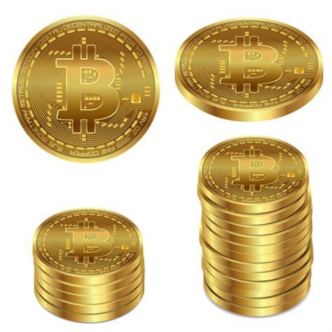 It is suitable for begginers and professionals! Vektor-illustration eines goldenen bitcoin auf einem weißen hintergrund. | Download der ...