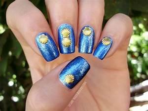 Seashell nails nail art by Sanela - Nailpolis: Museum of ...