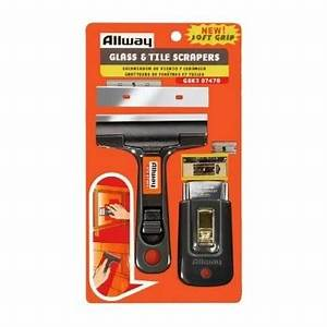 Buy the Allway GSK3 Glass and Tile Scraper - Combo Pack ...