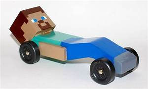 So my son wanted a minecraft pinewood derby car this year imgur for sweet william for Pinewood derby car image