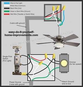 27 Hunter Ceiling Fan Wiring Diagram Red Wire