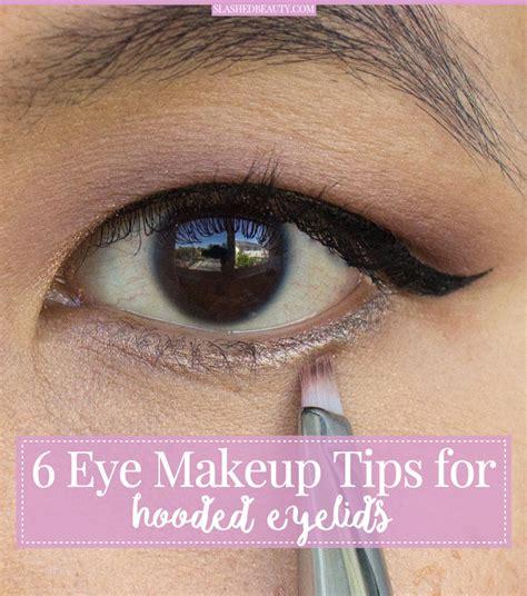 eye makeup tips  hooded eyes slashed beauty