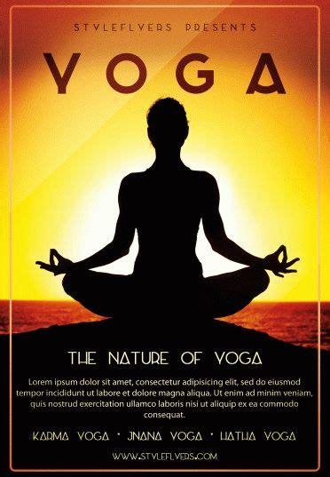 yoga psd flyer template  styleflyers