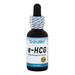 AnuMed - e-HCG Weight Management Formula Liquid Drops - 1 oz.