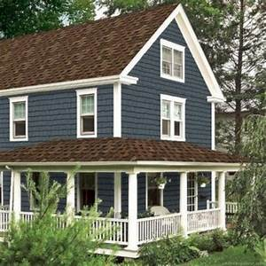 Exterior Paint Colors For House With Brown Roof 49 - Home