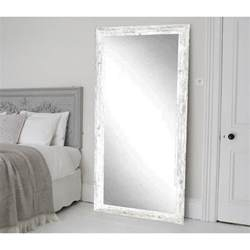 floor mirror home depot distressed white barnwood full length floor wall mirror bm032ts the home depot