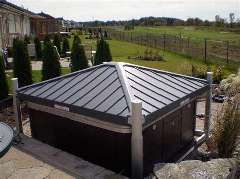 Whirlpool Garten Mit Dach by Covana Automatische Whirlpoolabdeckung Gazebos Garten