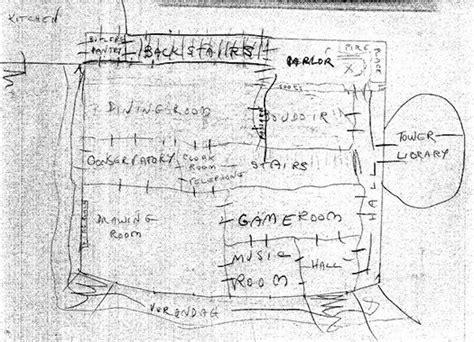 floor plan  hill house shirley jackson plan