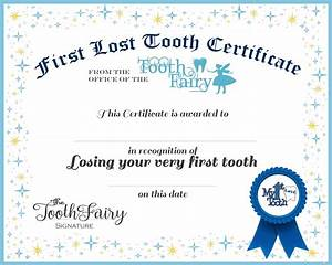 lucky sevens tooth fairy visits and printable With free printable tooth fairy certificate template