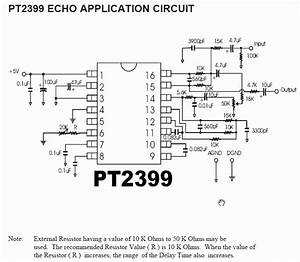 Electronic  Pt2399 Echo  Reverb Effects