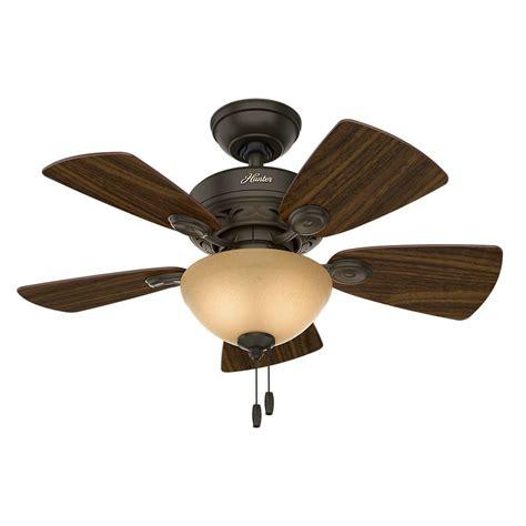 hunter watson   indoor  bronze ceiling fan