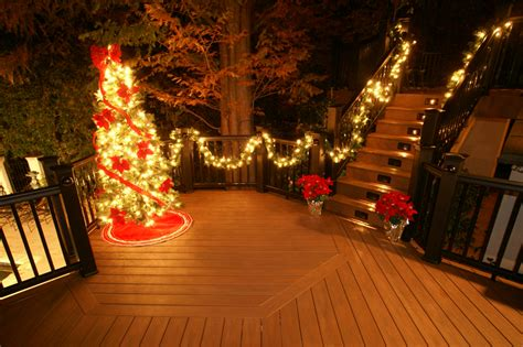 put a little holiday in your step with a new deck by