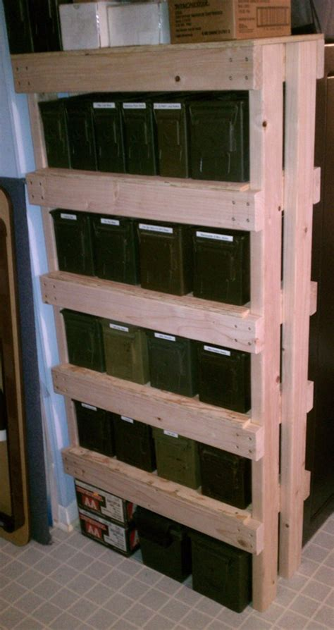 Diy Gun Cabinet Plans by How To Build An Ammo Can Rack A K A The Overbuilt Shelf