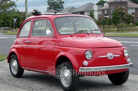 Fiat Bambino by Sold Fiat Bambino 500f Coupe Auctions Lot 1 Shannons