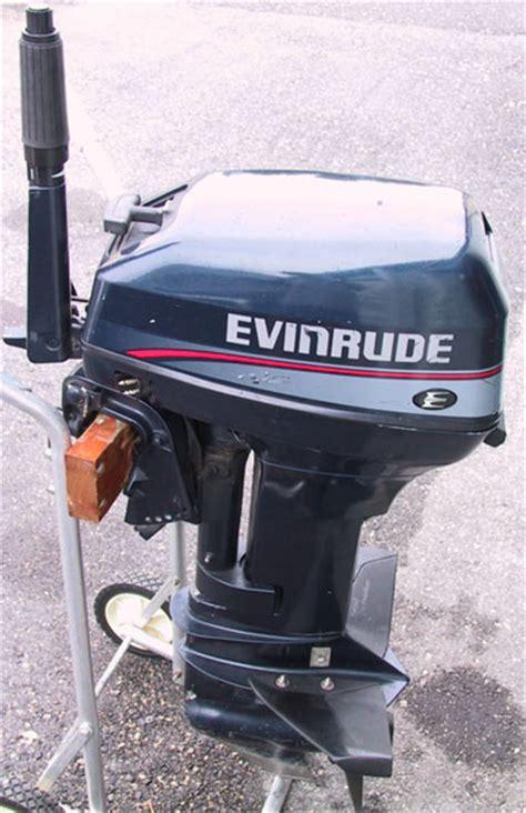 evinrude  hp outboard boat motor  sale