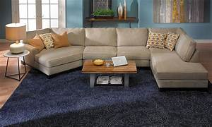 Sagittarius cuddler chaise sectional haynes furniture for Sectional sofa with chaise and cuddler