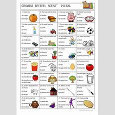 Grammar Review Nouns' Plural Worksheet  Free Esl Printable Worksheets Made By Teachers
