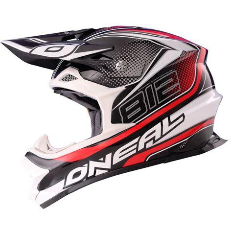 oneal motocross helmets oneal 812 graphic mx lightweight fiberglass 8 series