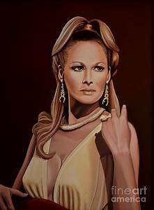 Ursula Andress Painting by Paul Meijering