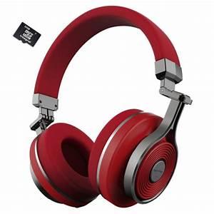 Casque Audio Long Fil : bluedio t3 plus rouge turbine 3 casque bluetooth 4 1 ~ Edinachiropracticcenter.com Idées de Décoration