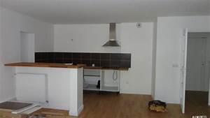 avant apres amenager un espace cuisine salon bureau 14 With faire un bar de cuisine