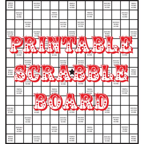 Printable Scrabble Tiles Pdf by Quirky Artist Loft Diy Printable Scrabble Board