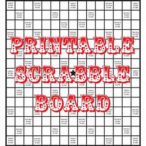 quirky artist loft diy printable scrabble board With blank scrabble board template