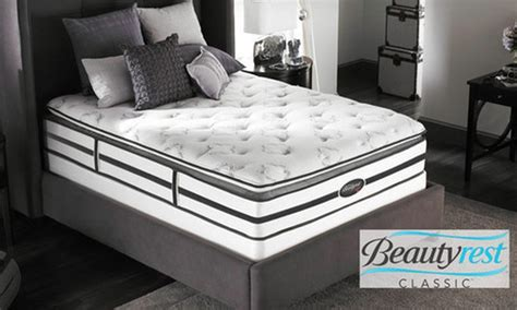 Deals With Mattress by Simmons Beautyrest Pillow Top Mattress In Groupon