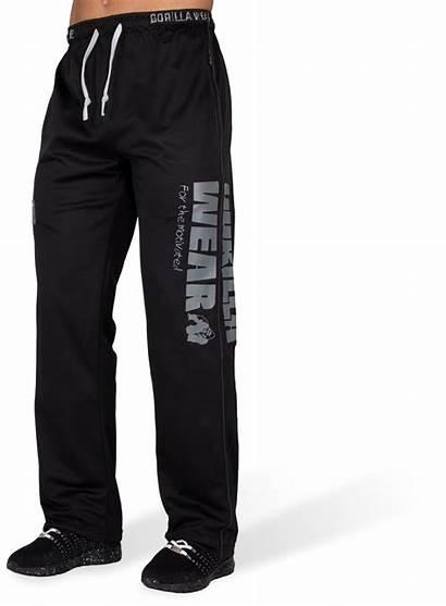 Gorilla Wear Trainingsbroek Mesh Xl Gorillawear Zwart