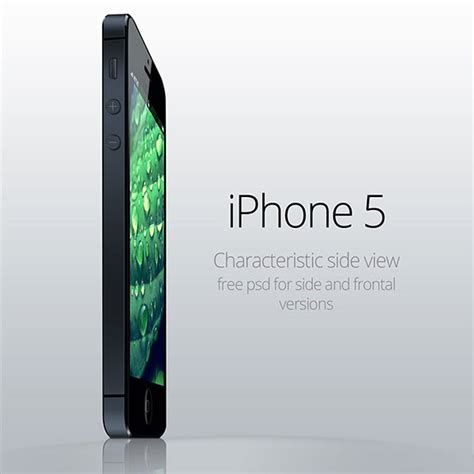 to view downloads on iphone iphone 5 side view psd free psd ui