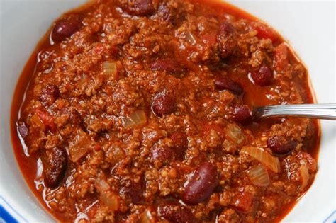 chili beans recipe beef chili with beans