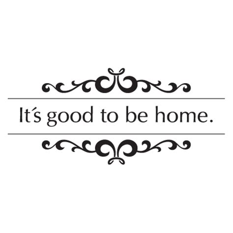 Good To Be Back Home Quotes